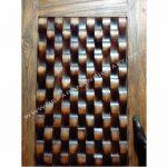 Pintu Kayu Jati Minimalis Antik Rustik Jepara