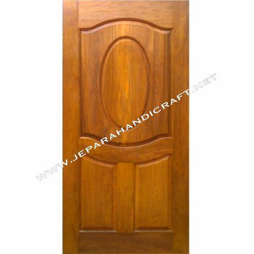 Jual Pintu Rumah Minimalis Kayu Jati Jepara Terbaru Murah