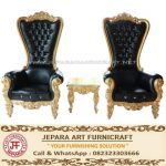 Set Sofa Mewah Princess Black Gold Elegant