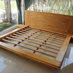 Tempat Tidur Minimalis Jati Jepang Waterbased