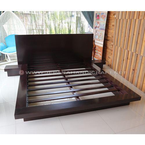 Jual Tempat Tidur Jati Minimalis Jepara Terbaru Harga Murah