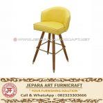Kursi Bar Minimalis Upholstery Fausta