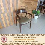 Kursi Makan Minimalis Jati Cafe Modern