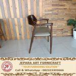 Kursi Makan Minimalis Jati Cafe