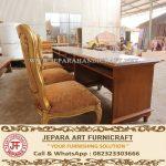 Meja Rapat Ukir Mewah Banjarbaru