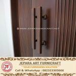 Pintu Kupu Tarung Minimalis Jati Amira