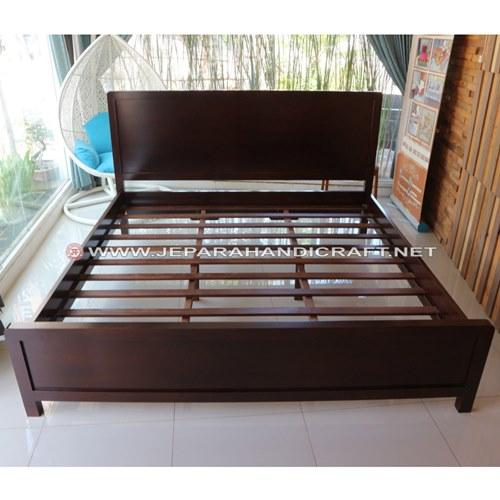 Jual Tempat Tidur Minimalis Jati