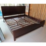 Tempat Tidur Minimalis Jati Anton
