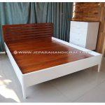 Tempat Tidur Minimalis Jati Orea Jepara