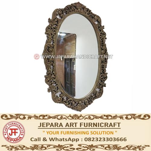 Jual Cermin Jati Minimalis Ukir Antik Mewah Jepara Terbaru Murah
