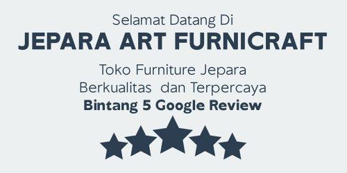 Toko Furniture Mebel Jepara Terpercaya