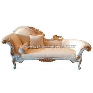 Jual Kursi Sofa Malas Classic White Cleopatra Berkualitas