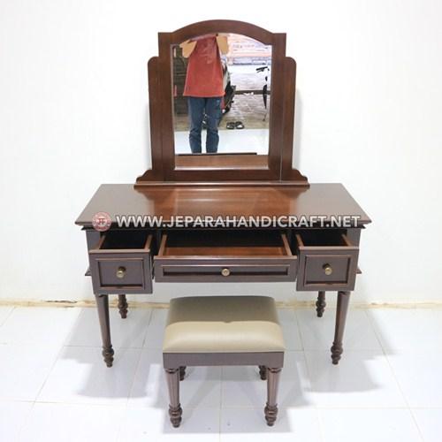 Jual Meja Rias Minimalis Kayu Jati Harga Murah