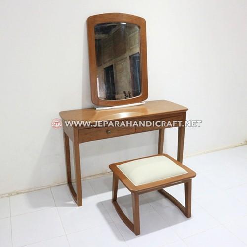 Beli Meja Rias Kayu Jati Minimalis Jepara Terbaru