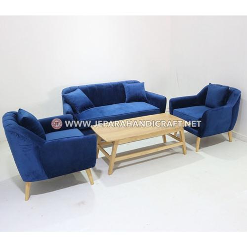Jual Sofa Ruang Tamu Kayu Jati Jepara Murah