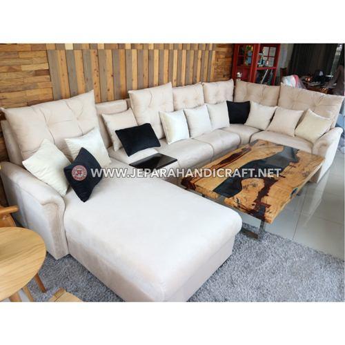 Jual Sofa Ruang Tamu Kayu Jati Jepara