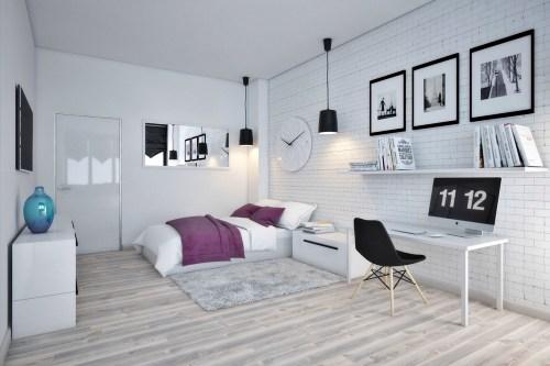 Ide & Inspirasi Desain Interior Kamar Scandinavian Style