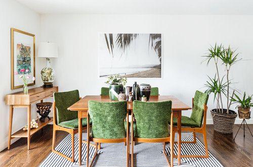 Konsep Meja Ruang Makan Tropical