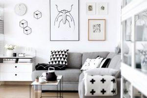 Konsep Rumah Minimalis Modern Interior Monochrome