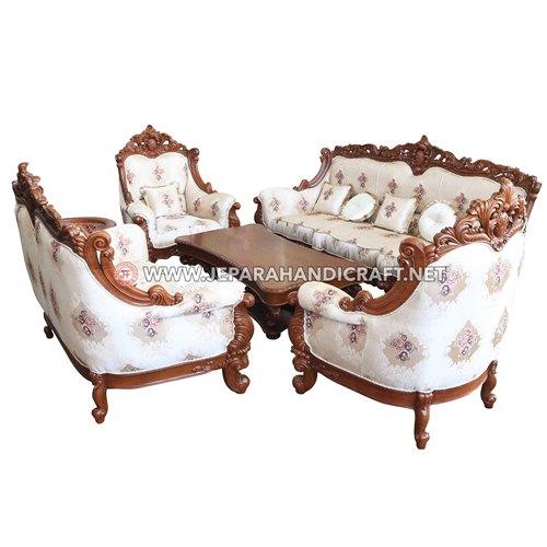 Jual Sofa Ruang Tamu Mewah Maharani Jepara Harga Murah