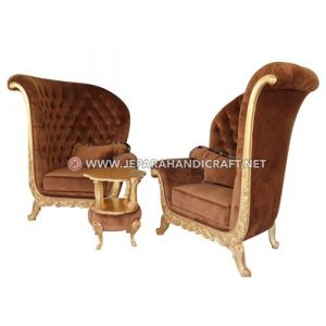 Jual Set Sofa Tamu Mewah Classic Arrumi Jepara Murah