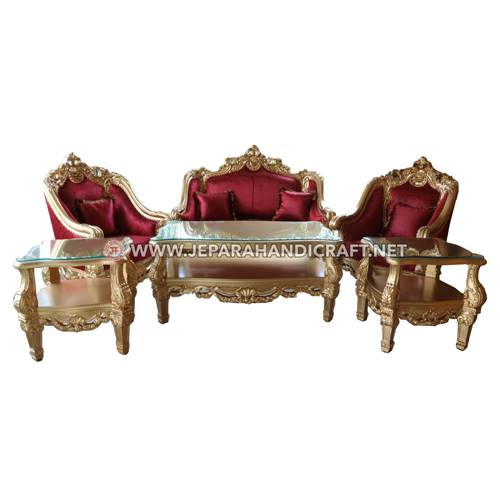 Jual Set Sofa Tamu Mewah Classic Clearmont Terbaru