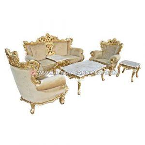 Jual Set Sofa Tamu Mewah Klasik Eolo Jepara Murah