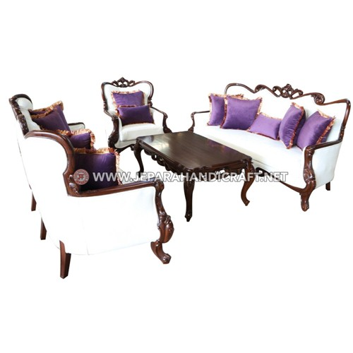 Jual Set Sofa Tamu Mewah Classic Paretti Berkualitas