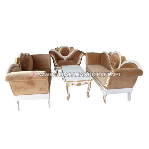 Jual Set Sofa Mewah Klasik River Hashidan Jepara Murah