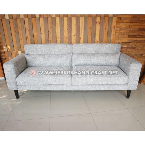 Jual Sofa Ruang Keluarga Minimalis Kayu Jati Hendra Jepara Murah