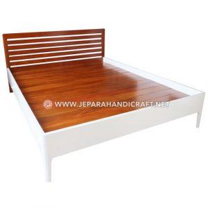 Jual Tempat Tidur Minimalis Full Slats Orea Jepara Murah