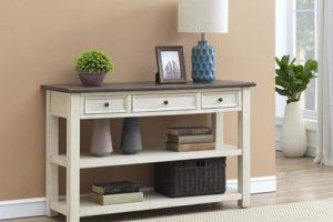 Tips Pintar Cara Memilih Meja Konsul Sebelum Membelinya