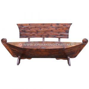 Jual Bangku Taman Antik Jati Model Perahu Jepara Harga Murah