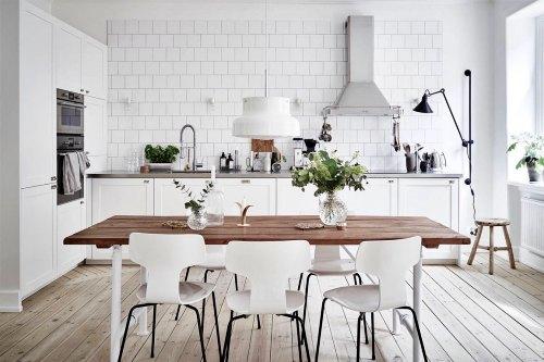 Ide & Inspirasi Desain Interior Dapur Scandinavian Style