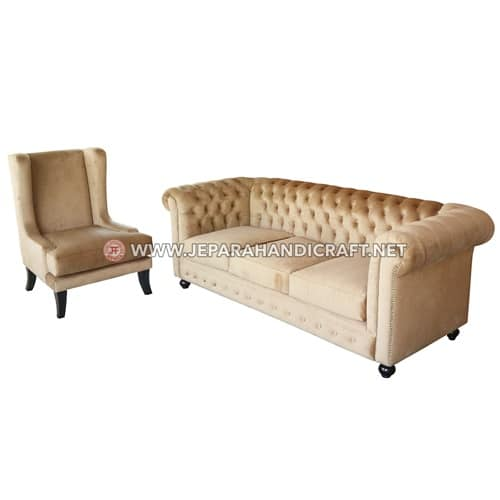Jual Sofa Tamu American Style Chester Valentino Murah
