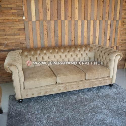 Jual Sofa Tamu American Style Chester Valentino Jepara