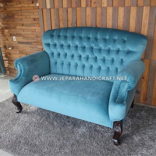 Jual Sofa Ruang Tamu Jati Ukir Arunika Jepara Murah
